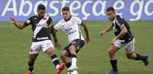 Vasco empata sem gols com o Corinthians e está virtualmente rebaixado