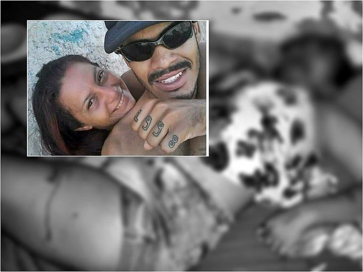 Vítima morreu na frente das filhas