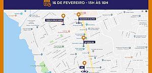 Hoje, às 15 horas, moradores do Pinheiro participam de simulado de evacuação