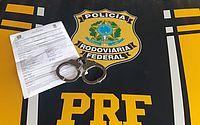 Foragido da Justiça e acusado por vários crimes, homem é preso pela PRF em Rio Largo