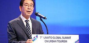 Após sumiço, prefeito de Seul é encontrado morto