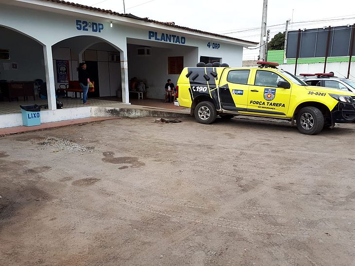 Após a prisão e flagrante o homem foi levado para a Central de Flagrantes de Arapiraca.