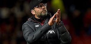 Jürgen Klopp, técnico do Liverpool