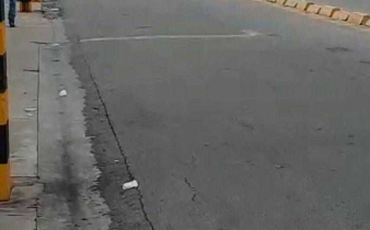 Imagem mostrada em vídeo