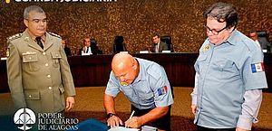 Guarda Judiciária: 120 militares da reserva reforçam segurança de magistrados e servidores