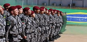 Força Nacional divulga edital para militares das Forças Armadas