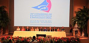 Em cerimônia, 45º Congresso da SOBEP é aberto oficialmente