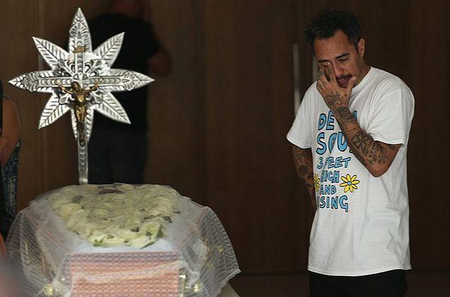 Corpo de Marcelo Yuka é velado na Sala Cecília Meireles, no Rio
