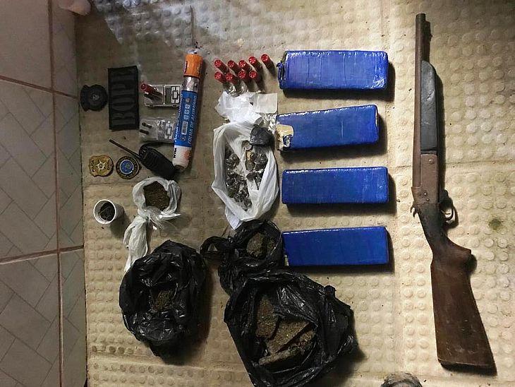 Operação prendeu suspeitos na parte alta de Maceió