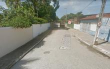 O crime foi cometido na Rua do Outeiro, por trás do cemitério da Barra de São Miguel