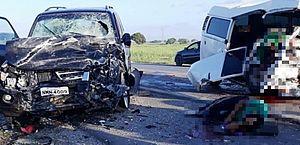 Acidente deixou um morto e três feridos em Marechal