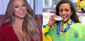 """Mariah Carey elogia Rayssa Leal, Fadinha do skate: """"Você é incrível!"""""""