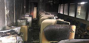Incêndio em prédio onde funciona o 'Bolsa Família' em Arapiraca pode ter sido criminoso