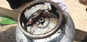 Troca de botijão de gás causa incêndio em residência no interior de Alagoas; veja fotos