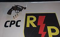Três são detidos com revólver dentro de carro na Avenida Menino Marcelo