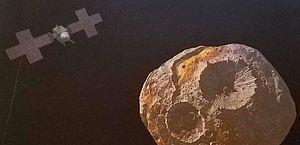 Asteroide teria tanto ouro que seria capaz de causar um colapso econômico mundial