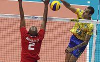 Sem sustos, Brasil bate Egito em estreia no Mundial de vôlei
