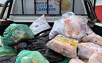 Fiscalização apreende 1.100 quilos de alimentos estragados na parte alta de Maceió