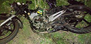Motociclista morre após acidente com carro em povoado de Água Branca
