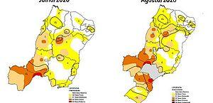 Monitor registra forte aumento da área com seca em Alagoas