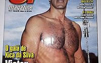 Galã de 'Xica da Silva' posa de cueca e exibe corpo musculoso aos 61 anos