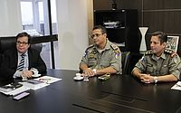 Judiciário discute parceria com a PM para contratar policias da reserva