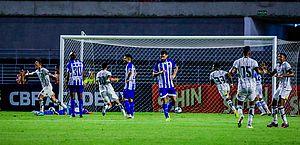 CSA sofre gol no apagar das luzes e perde para o Botafogo-PB no Rei Pelé