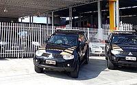 PF cumpre mandado em loja de veículos na Avenida Rotary