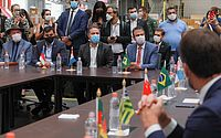 Renan Filho participou, em SP, da cerimônia do Ministério da Saúde que marcou o início da distribuição dos imunizantes aos Estados
