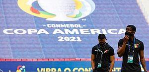 Balanço da Copa América: já são 65 casos positivos de Covid-19