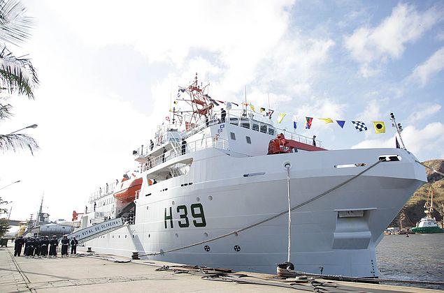 Navio de Pesquisa Hidroceanográfico estará aberto a visitas no Porto de Maceió