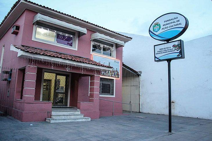 Fachada da Fundação Municipal de Ação Cultural