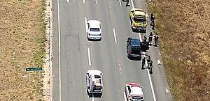 Perseguição na AL-101 Sul: homem é preso em carro roubado após assaltar vans