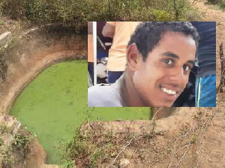 Jovem foi encontrado morto em cisterna