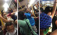 Regras de distanciamento ficam mais rígidas, mas ônibus continuam lotados em Maceió