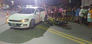 Acidente entre carro e moto deixa um morto em Maragogi