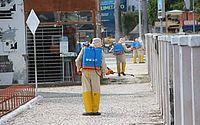 Coronavírus: Prefeitura de Arapiraca higieniza ruas equipamentos públicos