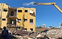 Pinheiro: empresa altera cronograma de demolições de prédios em risco