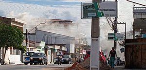 Bombeiros controlam princípio de incêndio em bar de União dos Palmares