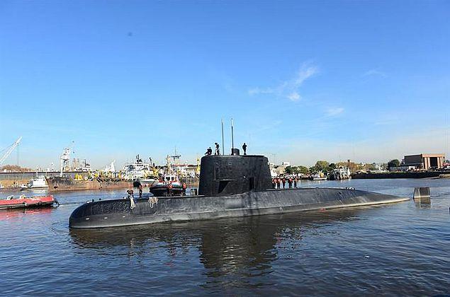 Submarino argentino é encontrado um ano após ter desaparecido com 44 tripulantes