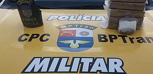 Polícia apreende 5,7 kg de crack e prende suspeito de tráfico em Rio Largo