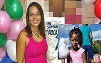 Mulher mata a filha de 5 anos e arranca olhos e língua da criança com tesoura