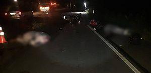 Acidente entre motos deixa dois mortos na AL-115, em Arapiraca
