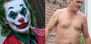 Grisalho e com quilos a mais, Joaquin Phoenix reaparece irreconhecível