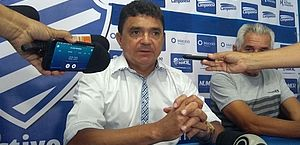 Flávio Araújo em passagem pelo CSA