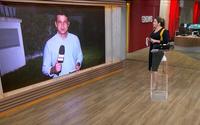 Christiane Pelajo se revolta ao vivo após problema técnico e áudio vaza
