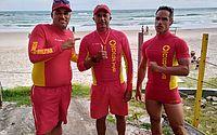 Bombeiros contaram com militares de folga em resgate na praia da Barra de São Miguel