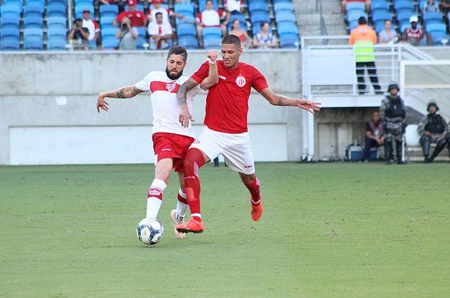 CRB sai na frente, mas América-RN busca o empate pela Copa do Nordeste