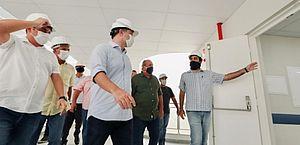 Governo inaugura Hospital Regional do Norte, em Porto Calvo, nesta segunda-feira (6)