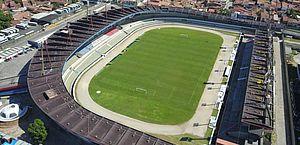Estádio Rei Pelé recebe jogos sem público devido à decisão liminar que acatou interdição parcial